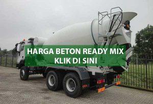 HARGA BETON READY MIX JAKARTA