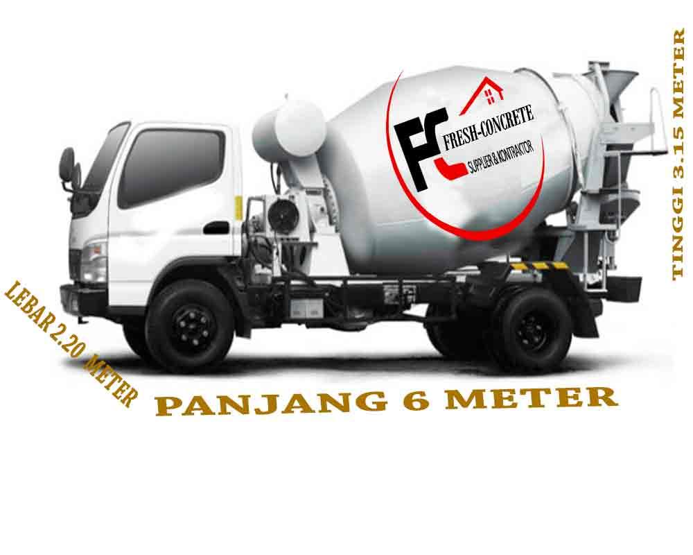 harga beton ready mix cor murah minimix mobil molen kecir