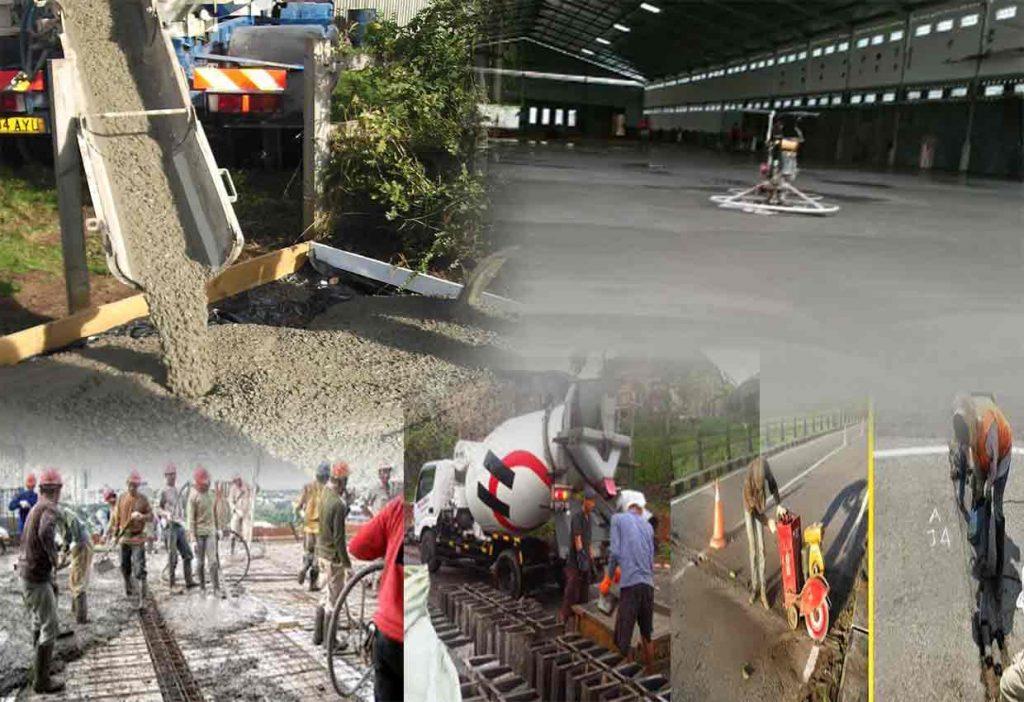 Jasa Pekerjaan Borongan Gelar beton per meter terbaru 2018