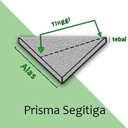 Cara Menghitung Kubikasi segitiga