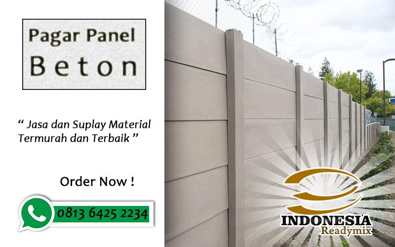Harga Borongan Pasang Panel Beton
