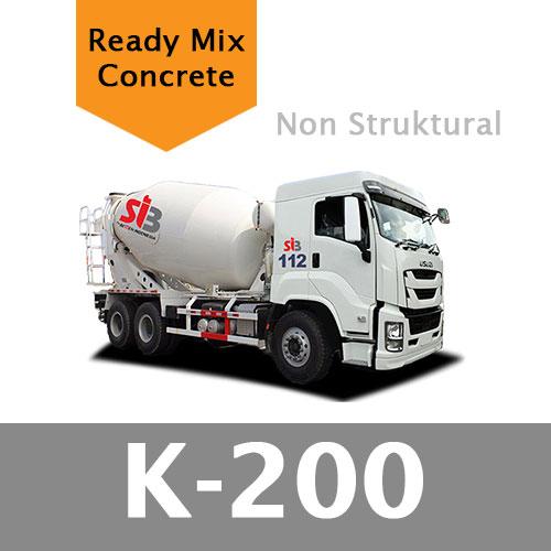 Harga Ready Mix K 200