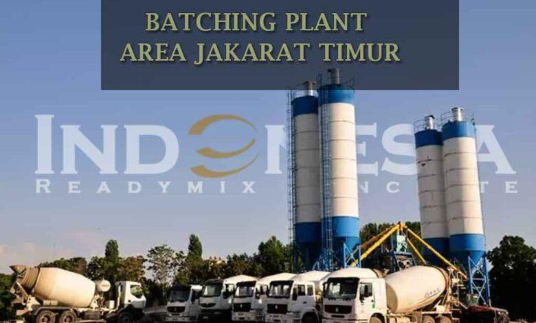 Harga Beton Jayamix Matraman- Jual Beton Cor Readymix Batching Plant Ready Mix Jayamix Terdekat di Matraman
